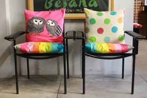 Sedute nella sala relax di Campus Coworking Milano